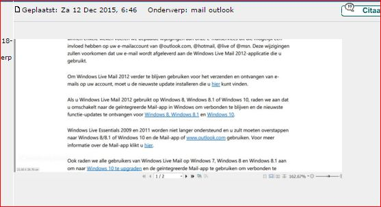 Windows Live Mail 2012+Outlook mail | Pctuts be