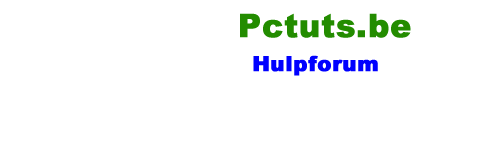 Pctuts.be Helpforum - Computer hulp
